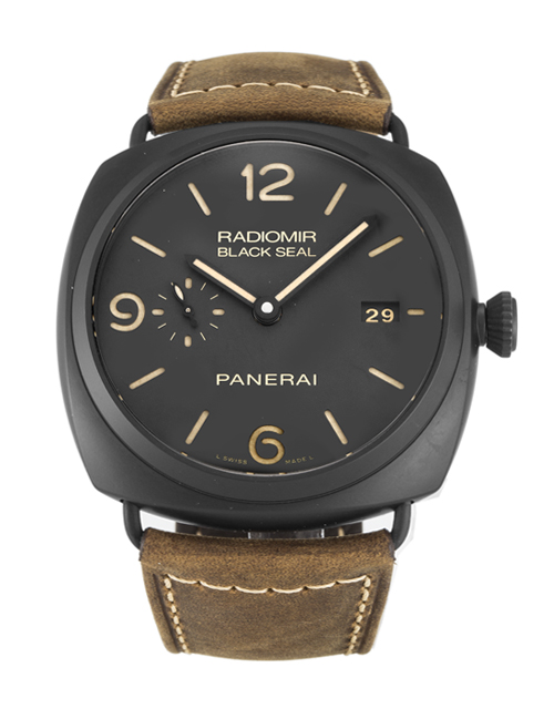 The amazing replica panerai radiomir rattrapante chronograph with black dial